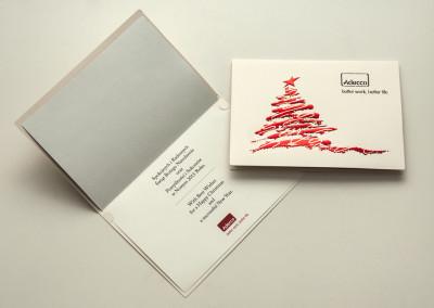 Kartki Świąteczne Adecco