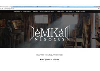 Strona www Emka Negoces