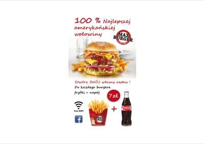 Ulotka Dl Max burger