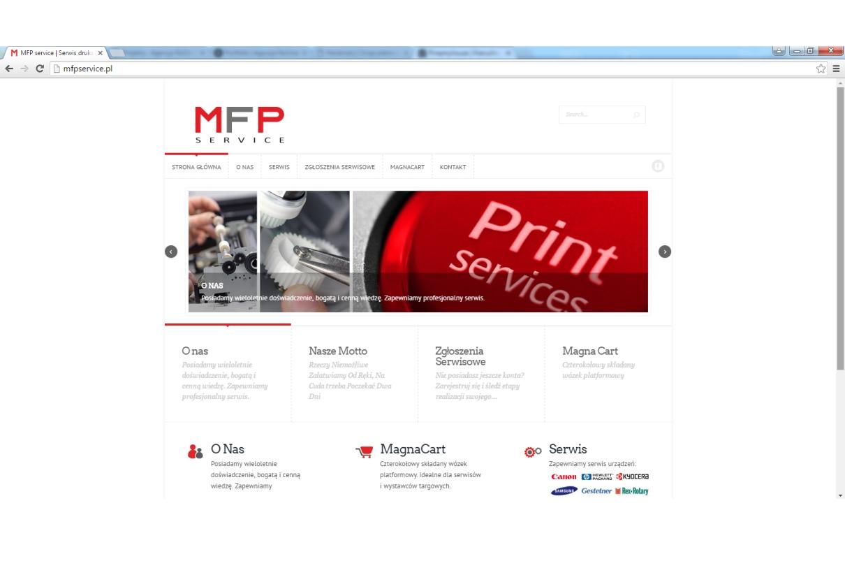 Strona www Mfp service