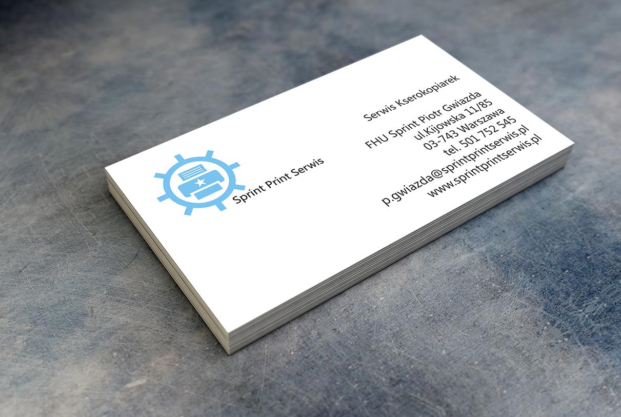 Wizytówki Sprint Print Serwis