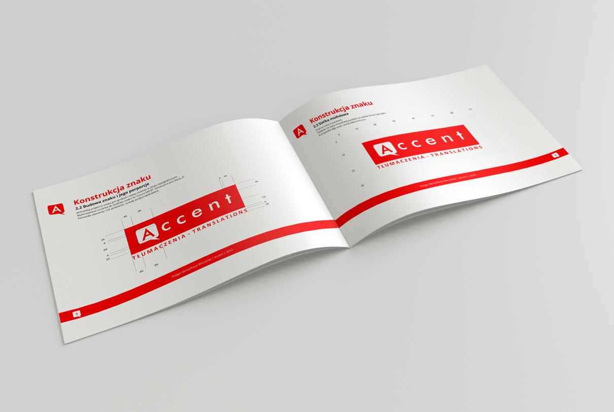 projekt graficzny księgi identyfikacji wizualnej