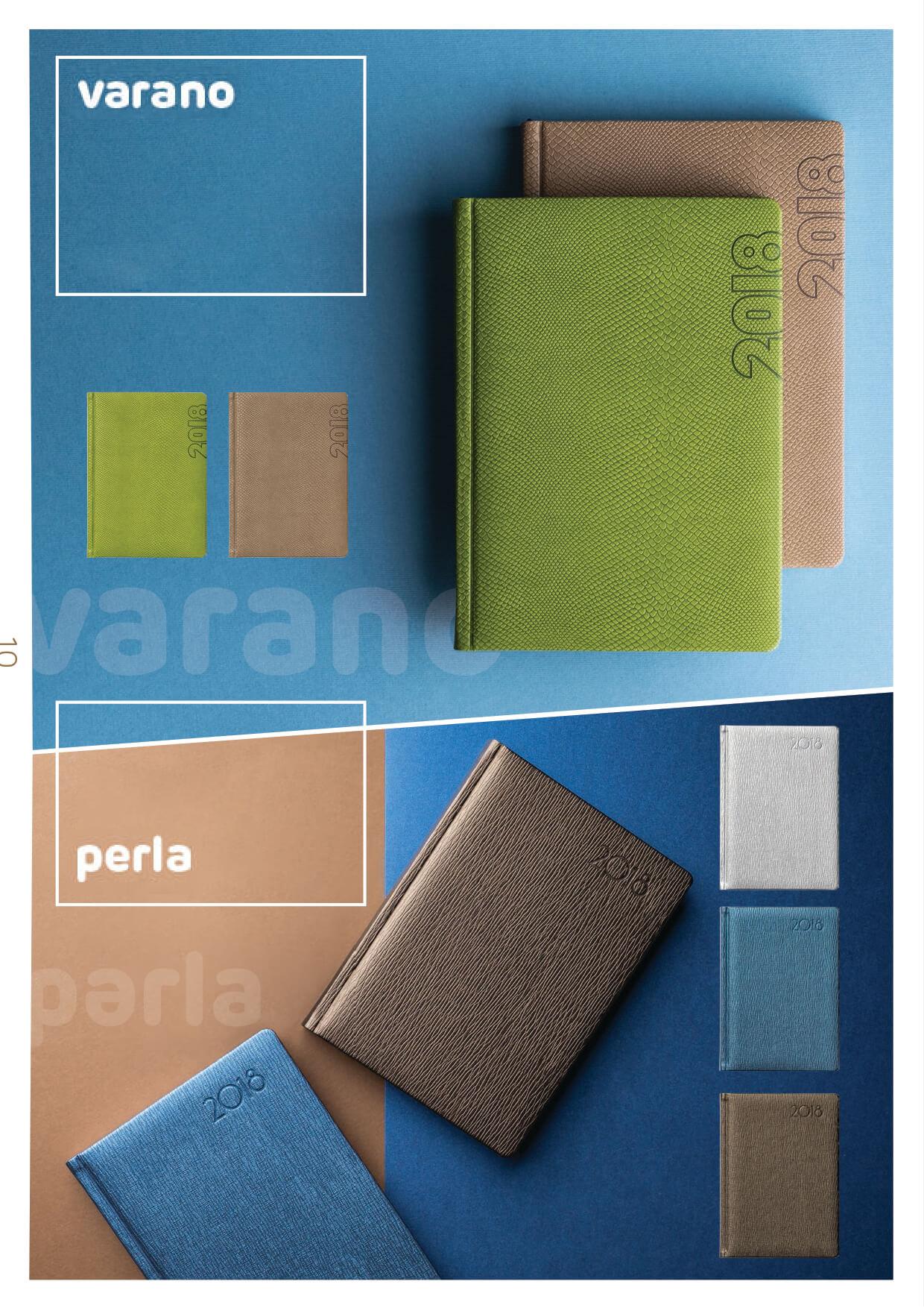 Kalendarze książkowe na 2018 rok / oprawa cotton