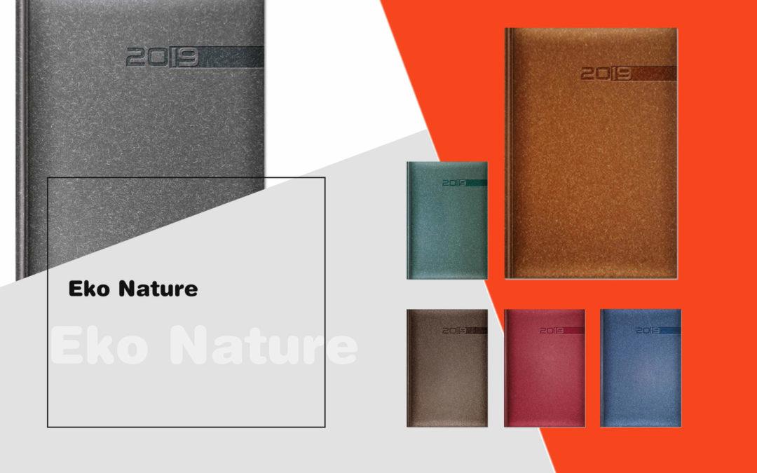 Kalendarze książkowe w okładce Eko Nature