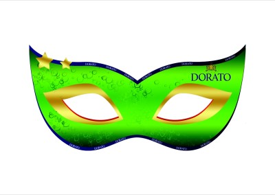 Maska karnawałowa Dorato