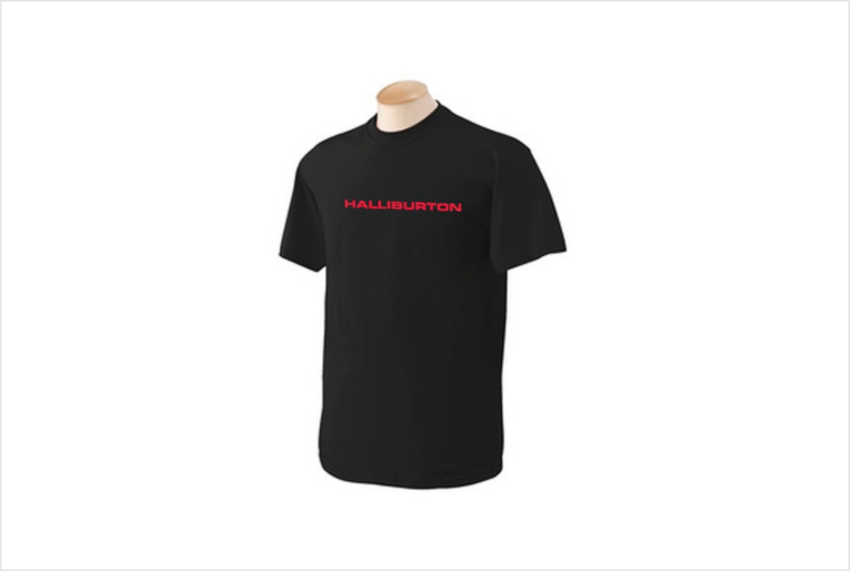T-shirt Halliburton