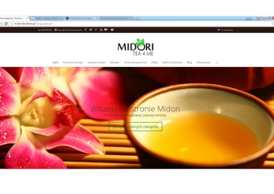 Strona www Midoritea4me