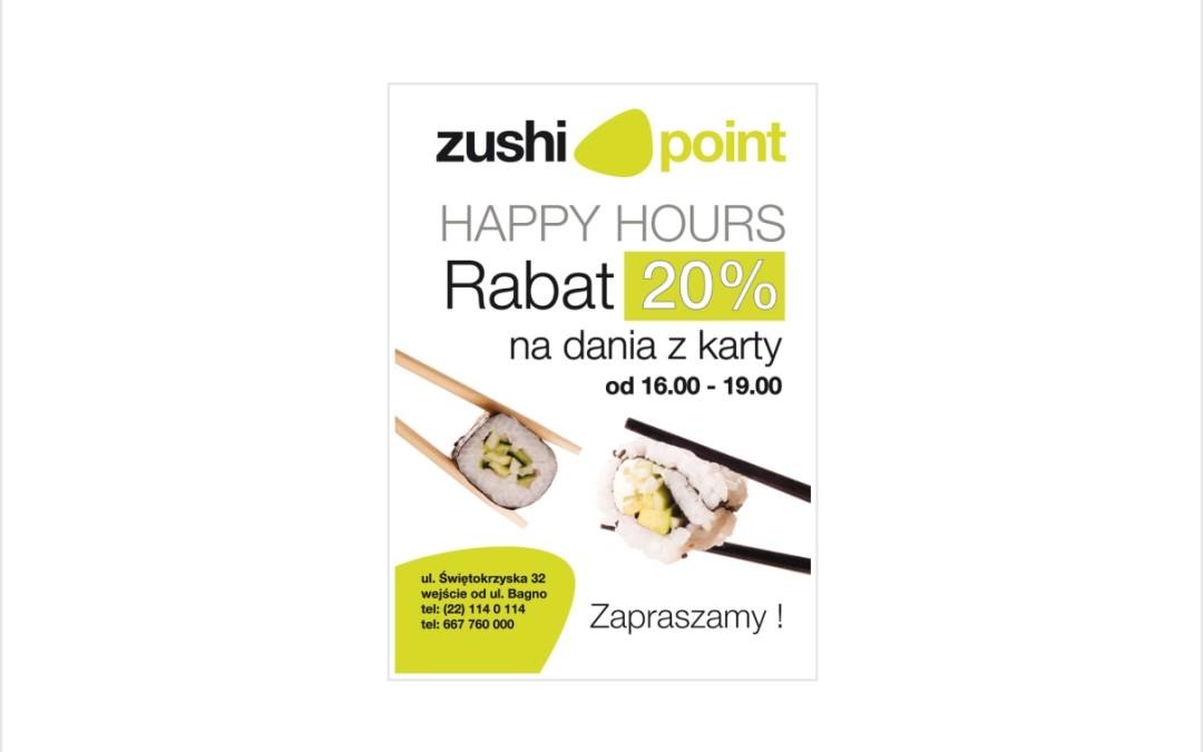 Ulotka A5 Zushi point
