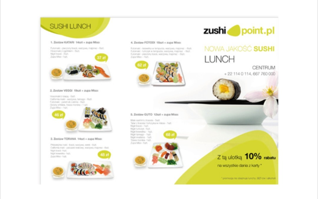 Ulotka Dl Zushi point 2