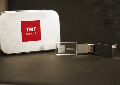 USB szklane TMF